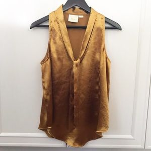 Maeve Gold swing blouse